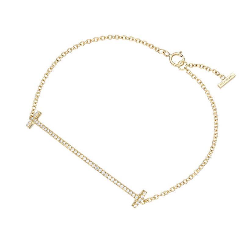 ティファニー Tiffany & Co. / Tiffany T スマイル ブレスレット #36667222