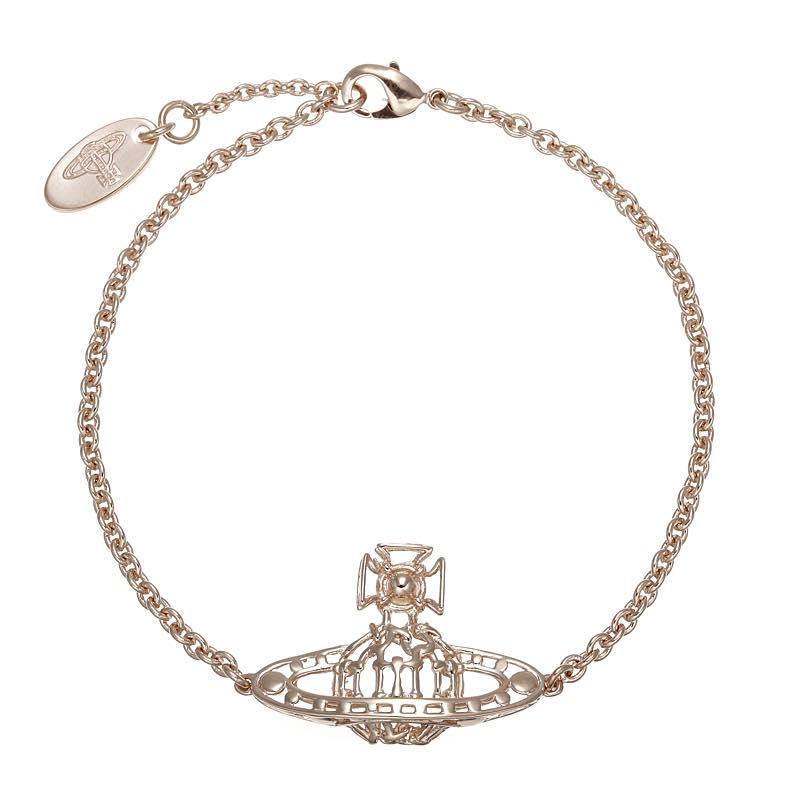 ヴィヴィアン・ウエストウッド VIVIENNE WESTWOOD / ANANTA BAS RELIEF BRACELET ブレスレット #BBL824 1 PINK GOLD