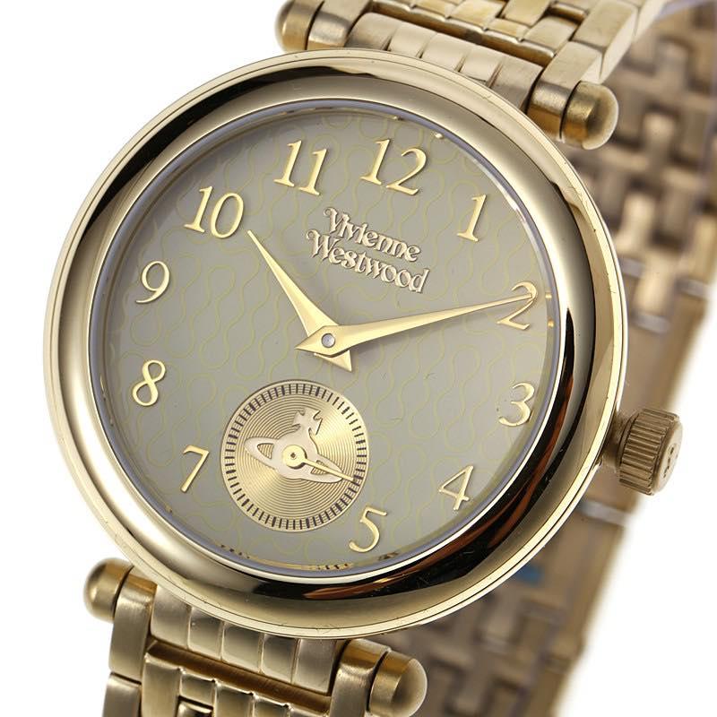 ヴィヴィアン・ウエストウッド VIVIENNE WESTWOOD / primrose womens watch 腕時計 #VV051 CPGD ゴールド