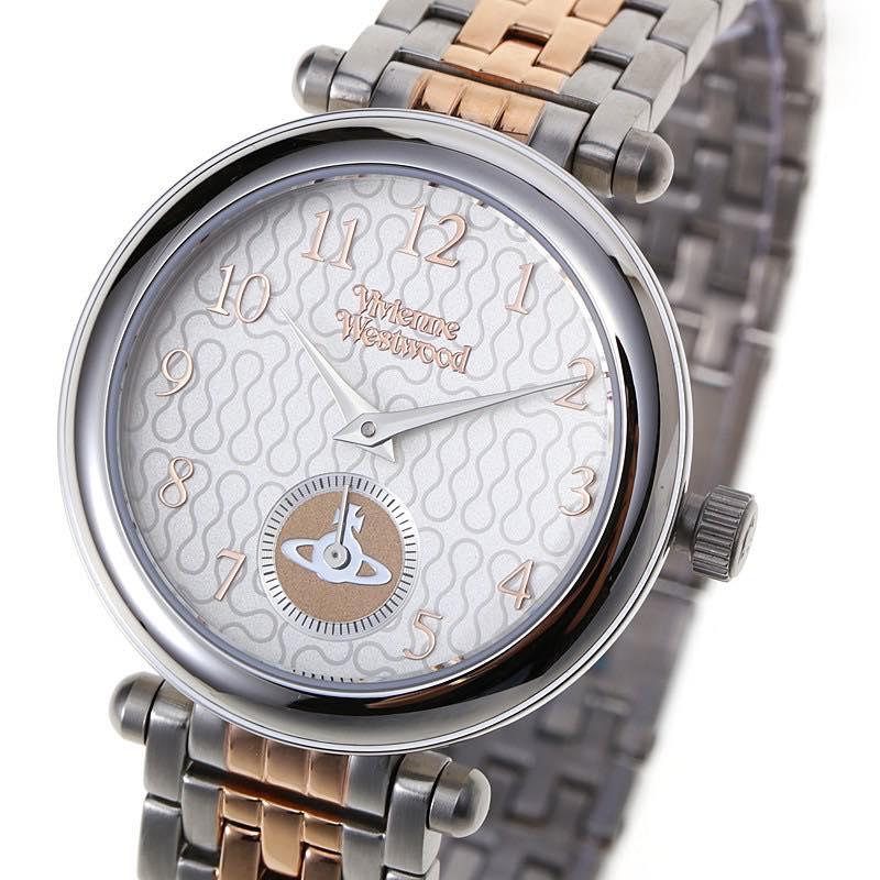 ヴィヴィアン・ウエストウッド VIVIENNE WESTWOOD / primrose womens watch 腕時計 #VV051 SLTT シルバー×ピンクゴールド