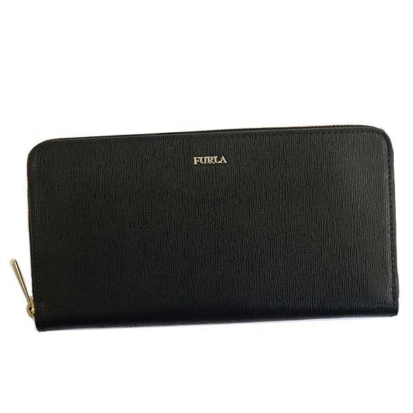 フルラ FURLA / BABYLON XL ZIP AROUND ラウンド長札入財布 #PS52 B30 O60 ONYX