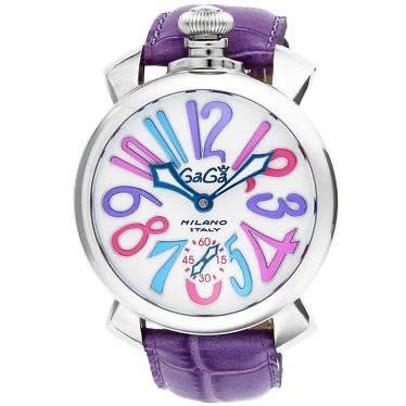 ガガミラノ GAGA MILANO / MANUALE 48MM 腕時計 #5010.09S PUR