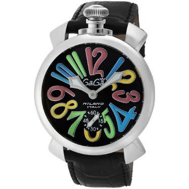 ガガミラノ GAGA MILANO / MANUALE 48MM 腕時計 #5010.02S BLK