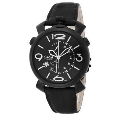ガガミラノ GAGA MILANO / 腕時計 #509901bk-n