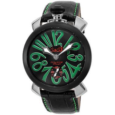 ガガミラノ GAGA MILANO / 腕時計 #501302S BLK