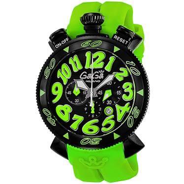 ガガミラノ GAGA MILANO / 腕時計 #60542RUBBER-GRN