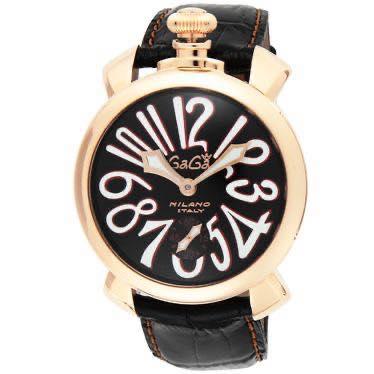 ガガミラノ GAGA MILANO / 腕時計 #501112S-BLK