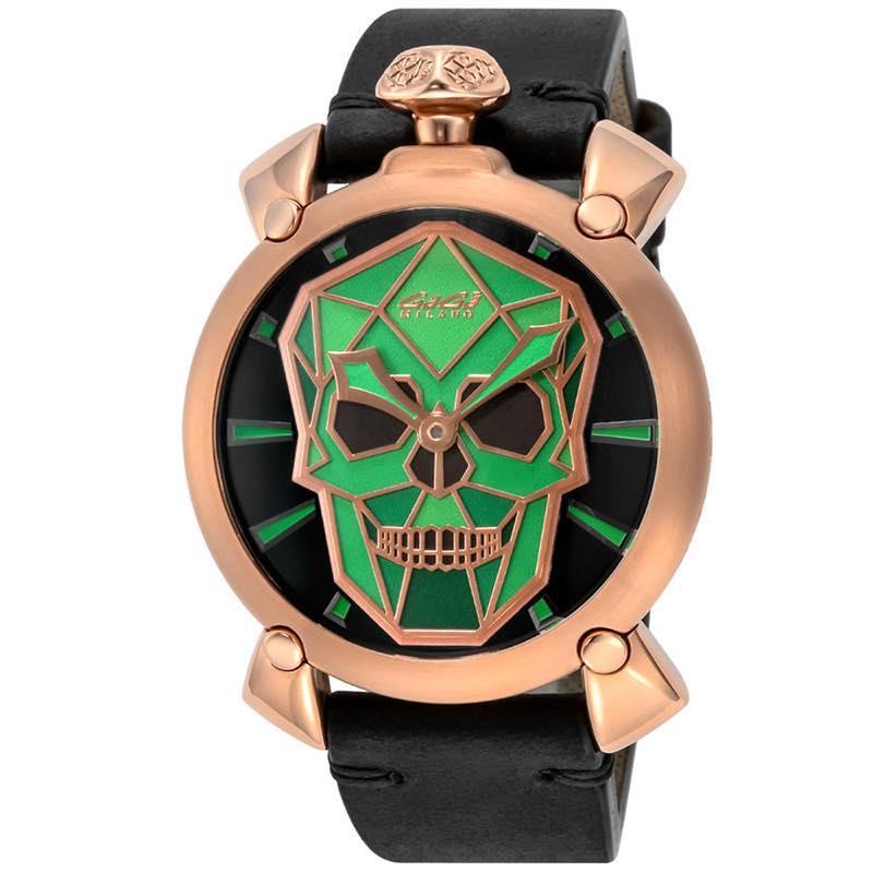 ガガミラノ GAGA MILANO / MANUALE 48MM 腕時計 #5061.02S BLK