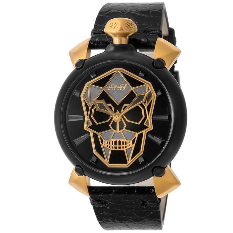 ガガミラノ GAGA MILANO / MANUALE 45MM 腕時計 #6314.01S BLK