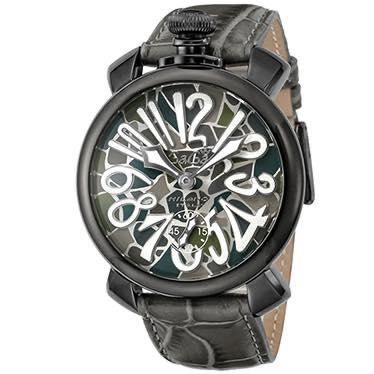 ガガミラノ GAGA MILANO / 腕時計 #5012MOSAICO01S-GRY