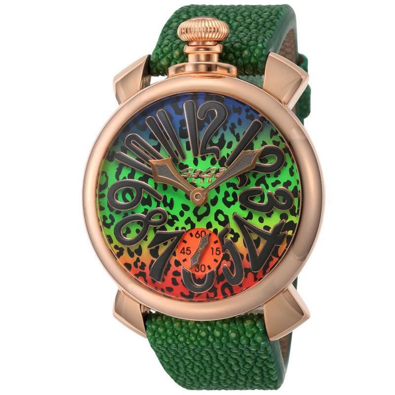 ガガミラノ GAGA MILANO / 腕時計 #5011ART03S-GRN