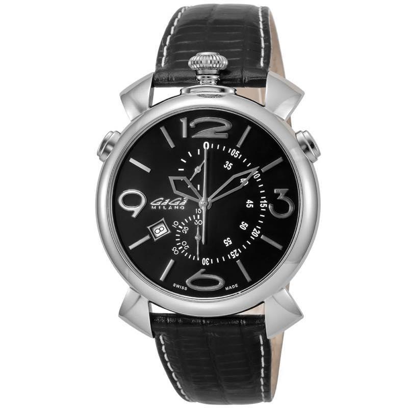 ガガミラノ GAGA MILANO / 腕時計 #5097.01BK-NEW-N-ST