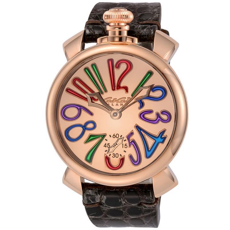 ガガミラノ GAGA MILANO / 腕時計 #5211MIR02-BRW