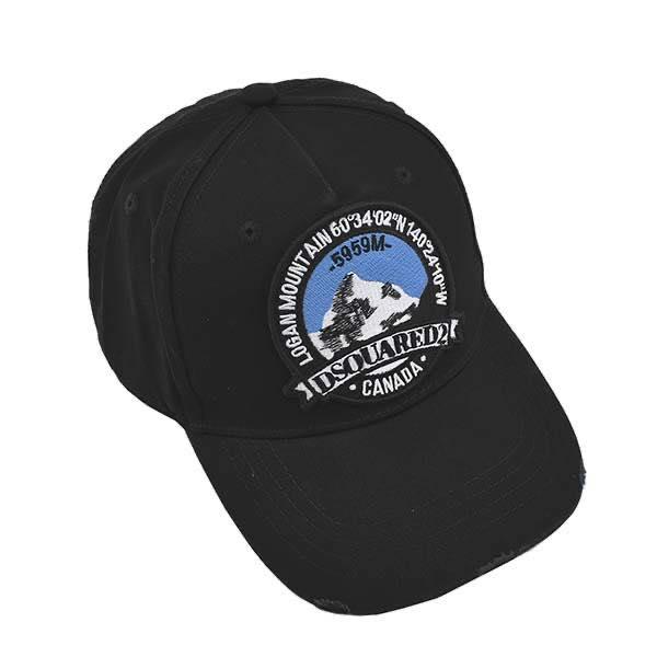 ディースクエアード DSQUARED2 / CANADIAN BASEBALL CAP キャップ #M0212 05C00001 2124 NERO