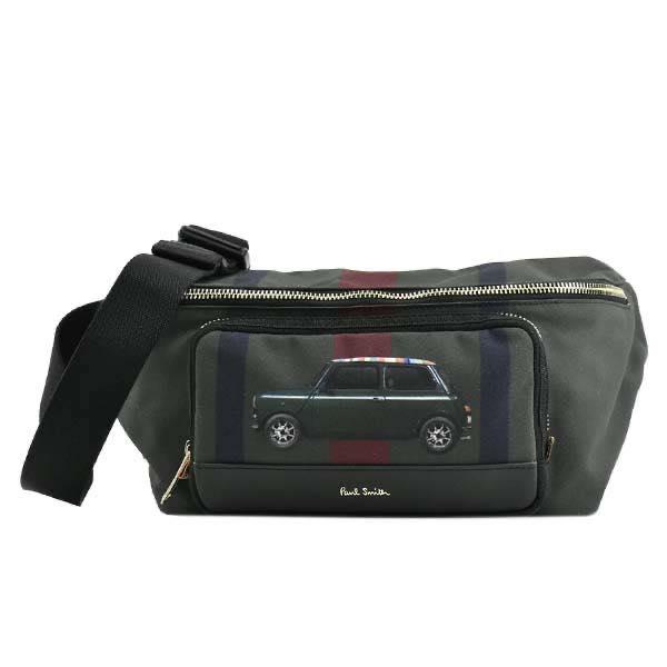 ポール・スミス PAUL SMITH / WAIST BAG OR SLING PACK ベルトバッグ #M1A-5736 A40482 30 BLACK/GREEN