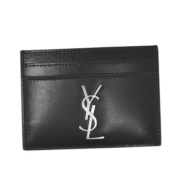 サンローラン SAINT LAURENT / YSL CREDIT CARD HOLD カードケース #485631 0SX0E 1000 NERO