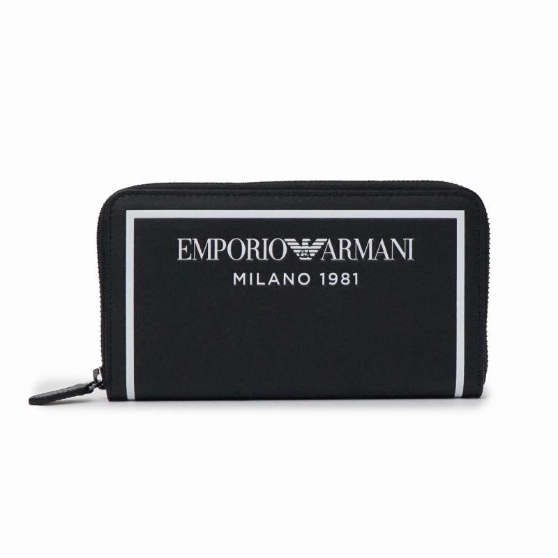 エンポリオアルマーニ EMPORIO ARMANI / ラウンドファスナー長札入財布 #Y3H168 YSO3I 88007