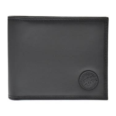 ハンティング・ワールド HUNTING WORLD / BATTUE ORIGIN 二つ折財布小銭入付 310 13A BATTUEOR BLACK