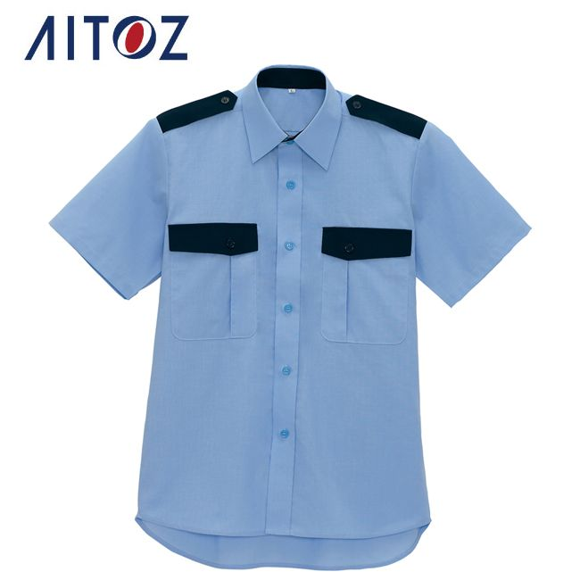 AZ-67036 アイトス 半袖シャツ | 作業着 作業服 オフィス ユニフォーム メンズ レディース