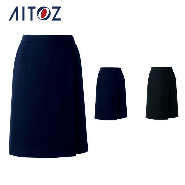 AZ-HCC3500 アイトス キュロットスカート | 作業着 作業服 オフィス ユニフォーム メンズ レディース