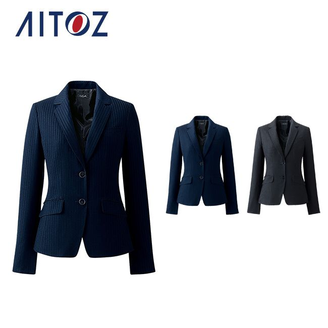 初回限定 メリハリ×着心地 3D美シルエットジャケット AZ-HCJ8010 アイトス ジャケット 70%OFFアウトレット 作業着 メンズ ユニフォーム 作業服 オフィス レディース