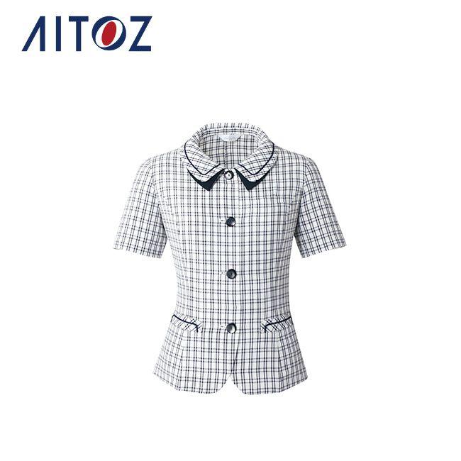AZ-HCL5561 アイトス オーバーブラウス | 作業着 作業服 オフィス ユニフォーム メンズ レディース