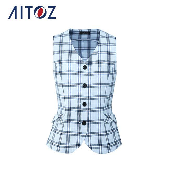 AZ-HCV6160 アイトス ベスト   作業着 作業服 オフィス ユニフォーム メンズ レディース