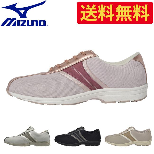 ミズノ mizuno レディース ウォーキング シューズ B1GF1831 LS801 | 女性 女性用 オフィス カジュアル フォーマル 靴 痛くない 履きやすい 疲れない ウォーキングシューズ ウォーキング シューズ おしゃれ かわいい