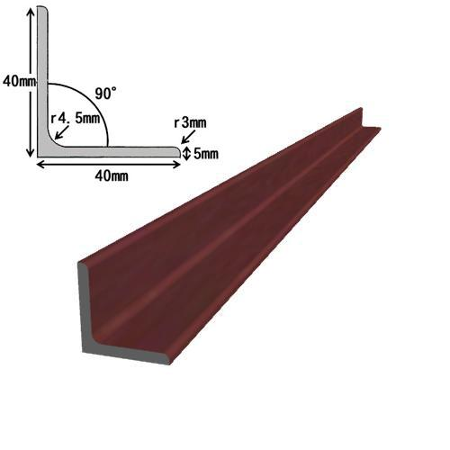 【石松様お見積り分】アングル L-5×40×40 黒皮 L=2000mm×10本 平鋼 FB-6×100 カラー L=100×8本   屋外 屋内 加工 DIY 切断 溶接 材料 鉄