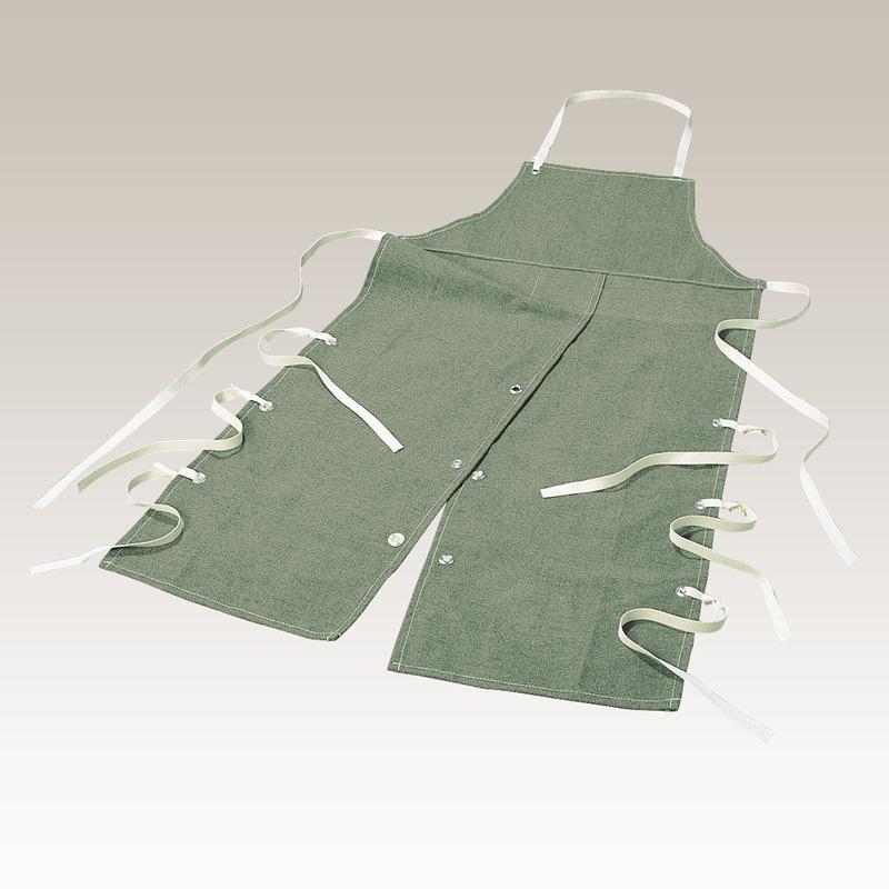 (受注生産品)タフ胸付ローハイド TFA-23 【大中産業】 | 作業 現場 多用途 マルチ 仕事 ビジネス