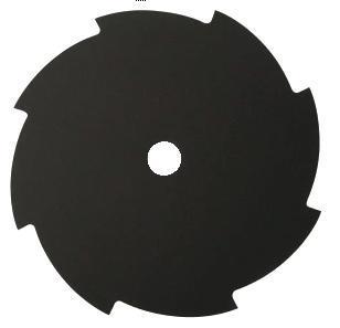 セール商品 返品交換不可 ソーマスター 刈払機用丸鋸 切込巴8枚刃 黒 255mm