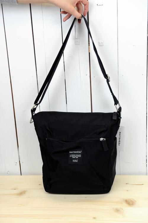 marimekko(マリメッコ) 『PAL』ROADIE-CONT ショルダーバッグ(色:ブラック)※日本正規取扱店 [送料無料] 02P01Oct16