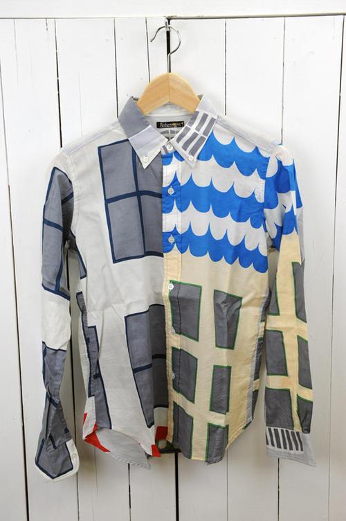 BOHEMIANS(ボヘミアンズ)『SHIRTS』KOMADO長袖カラーシャツ 色:(WHITE) ※日本正規取扱店 (送料無料) 02P03Dec16