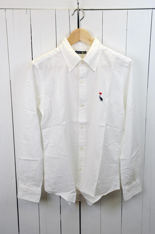 BOHEMIANS(ボヘミアンズ)『SHIRTS』 長袖カラーシャツ 色:(WHITE) ※日本正規取扱店   (送料無料)