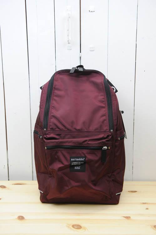 marimekko(マリメッコ) 『BUDDY』backpack(色:ワイン) ※日本正規取扱店 [送料無料] 02P05Nov16