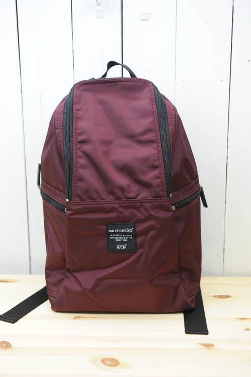 marimekko(マリメッコ) 『METRO』(メトロ)backpack(色:ワイン) ※日本正規取扱店 [送料無料02P03Dec16