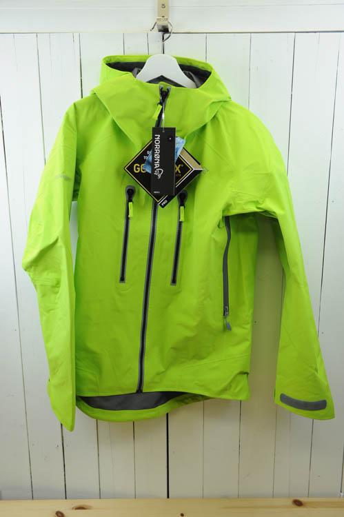 NORRONA(ノローナ) 『trollveggen Gore-Tex Pro Jacket 』(メンズ トロールヴェゲン ゴアテックス  プロジャケット)(色:Birch Green) ※日本正規取扱店 [送料無料]
