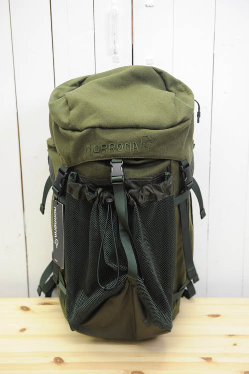 NORRONA(ノローナ) 『finnskogen integral Pack 40L』(フィンスコーゲン インテグラル パック 40L)(色:Green) ※日本正規取扱店※送料無料