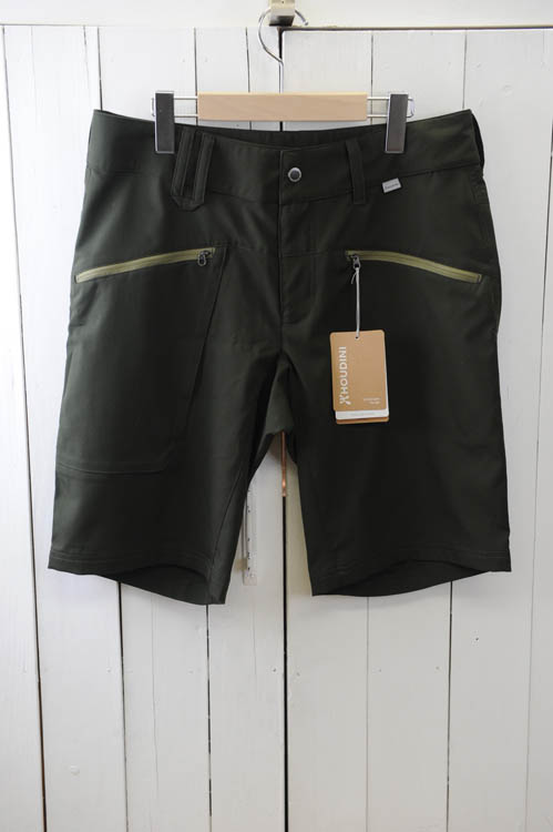 HOUDINI(フーディ二)『Mens Gravity Light Shorts』メンズ グラビティー ライト ショーツ色:(Base Green)  ※日本正規取扱店 [送料無料]