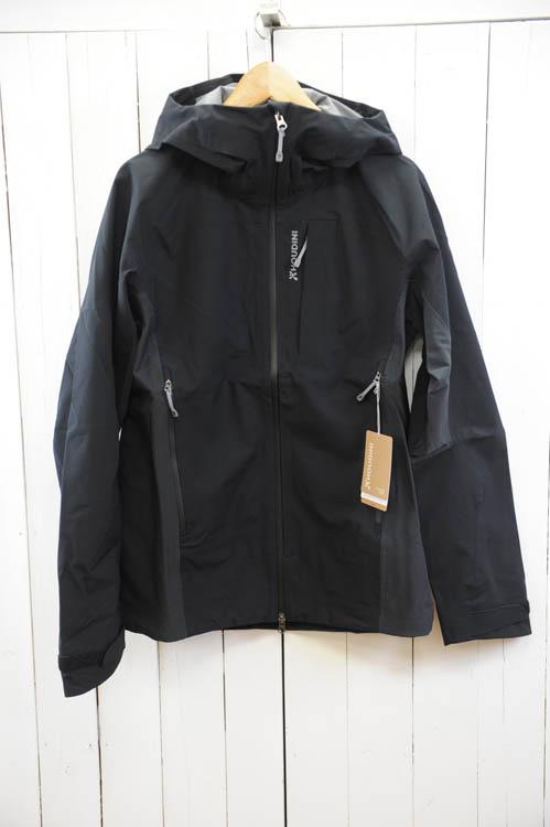 HOUDINI(フーディ二)『Mens Ascent Ride Jacket』メンズ アセント リブジャケット  色:(True Black)  ※日本正規取扱店 [送料無料]