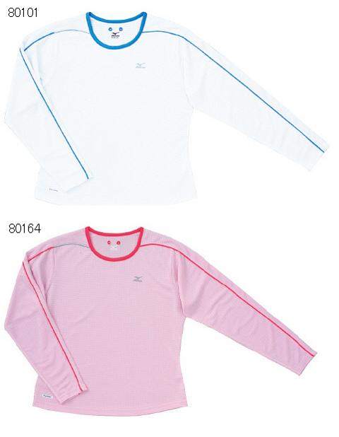 税込 ●手数料無料!! どんなランナーでも無理なく着れるシンプルなテデザインと快適素材のマッチングアイテム mizuno2008 09AW RUNNINGWOMEN'SベーシックTシャツ