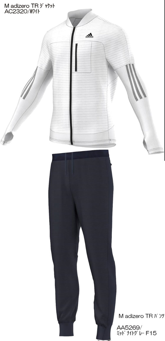 adidas2015FWadizero M TRジャケット&パンツ