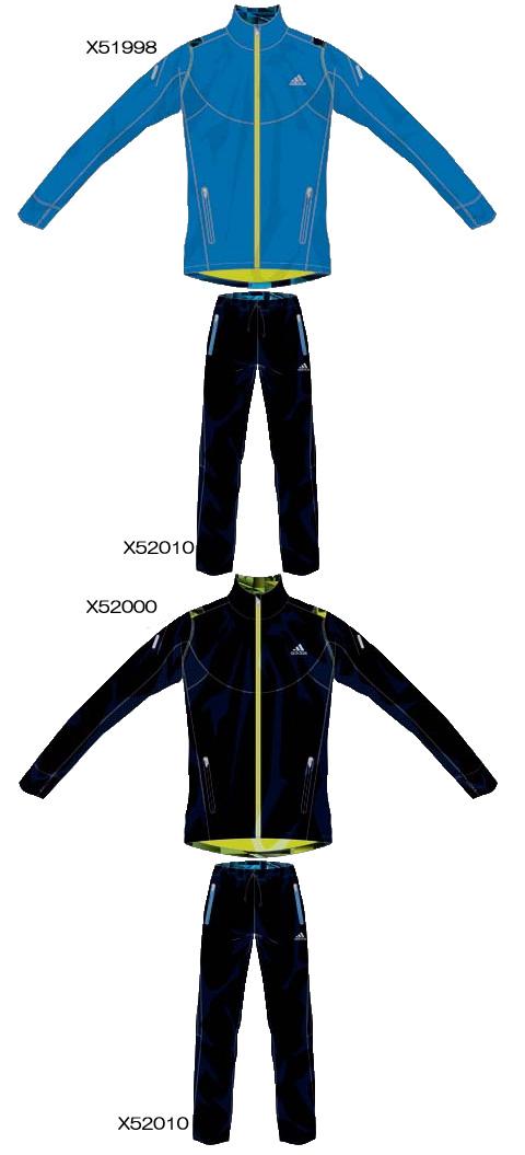 adidds2012FW 叶衣ウィンドジャケット&パンツ
