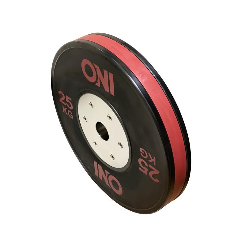 ONI バンパープレート 25kg 2枚1セット