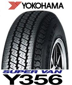 【バン用タイヤ】ヨコハマ SUPER VANY356 145/80R12 80/78N LT 4本セット145R12 6PR LT 相当品