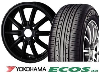 フェニーチェ RX-1 14インチ&ヨコハマ ECOS ES31 165/55R14 4本SET
