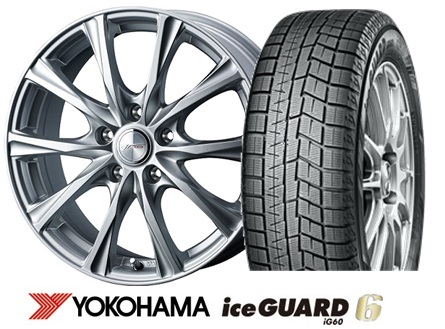ヨコハマ ice GUARD 6 iG60 225/45R18JOKER MAGIC 18インチSET