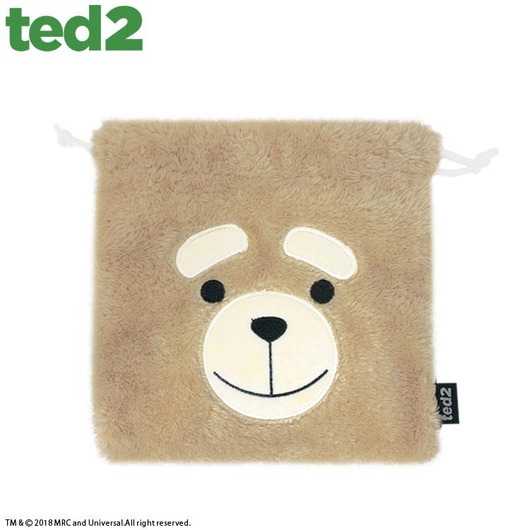 ★全品390円ショップ★ TED2 テッド2 コラボ ファーミニ巾着 サンキューマート