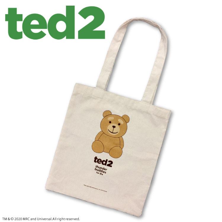 ★全品390円ショップ★ TED2 コラボ フラットトート サンキューマート