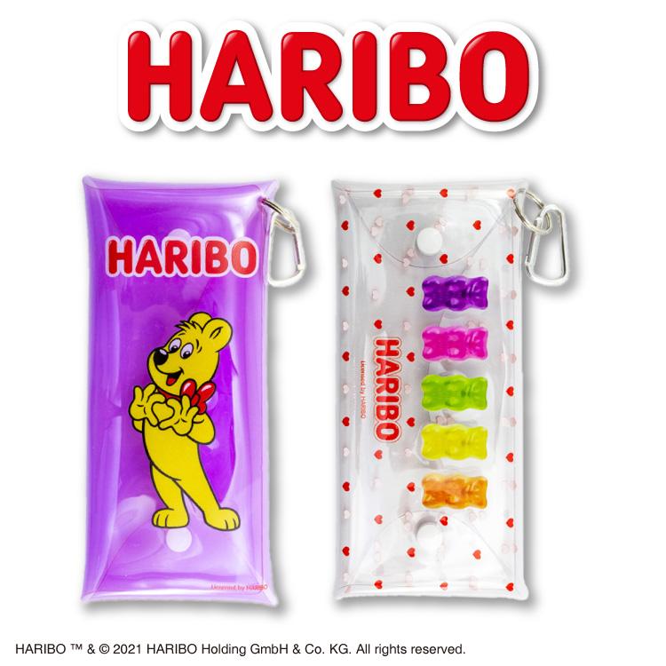 ★全品390円ショップ★ ハリボー コラボ マルチケース ロング サンキューマート